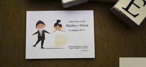 zaproszenie na ceremonię zaślubin - zabawne