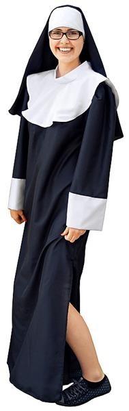 strój zakonnicy dla dorosłych