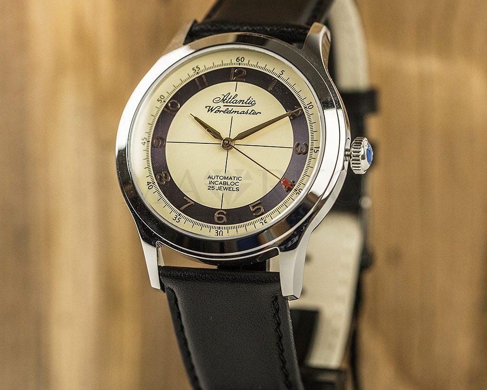 elegancki zegarek Atlantic Worldmaster