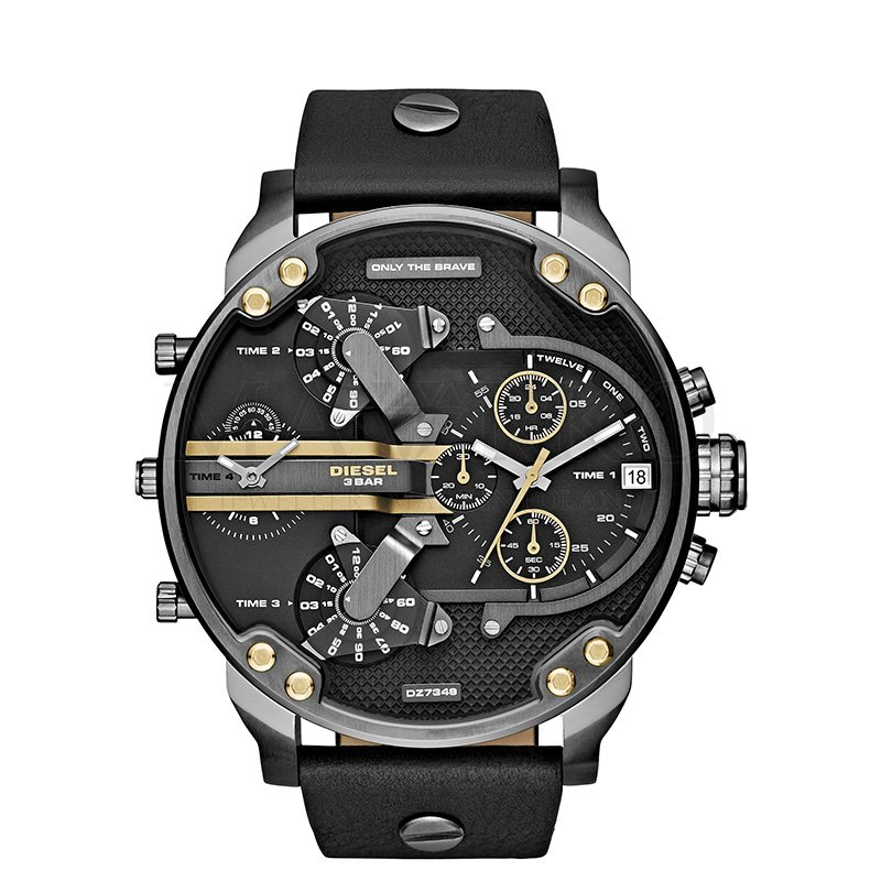 jeden z modeli zegarka Diesel
