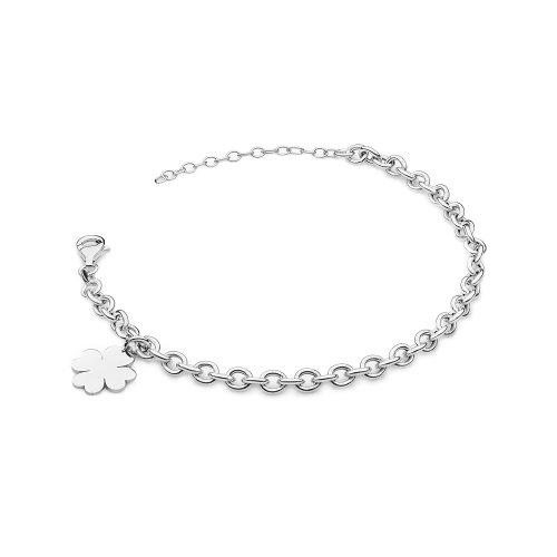 srebrna bransoletka - modny dodatek do stylizacji